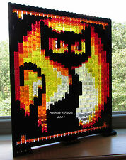 Lego  Mosaic Black Cat - Halloween - Custom Kit