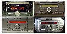 Aux Line In cavo Mp3 Ford Fiesta Focus C-Max S-Max pannello dal 2005 tasto AUX