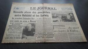 034-LE-JOURNAL-034-EDITION-DE-5-HEURES-ANCIEN-N-17308-DIMANCHE-10-MARS-1940-ABE