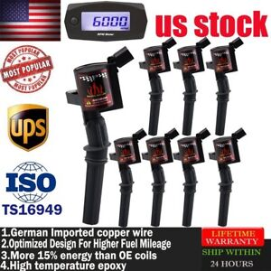 Pack On Plug Ignition Coils For Ford Crown Victoria 1998 1999 2000-2001 4.6//5.4L