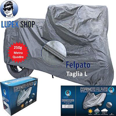 1 TELO COPRIMOTO SCOOTER FELPATO SAGOMATO tg L 232x100x125cm