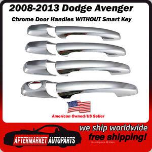 Dodge Avenger chrome door handle cover trim with smart key