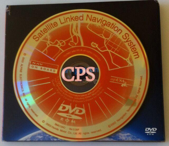 3.30F Orange HONDA NAVIGATION DVD 2003 2004 2005 ACCORD