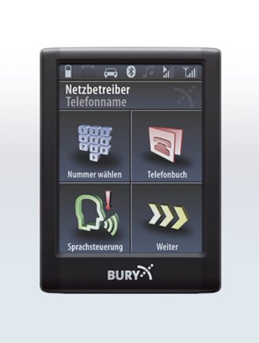 Bury cc9068 manos libres Bluetooth sirve para VW Polo 9n 9n3 6r hasta 2014