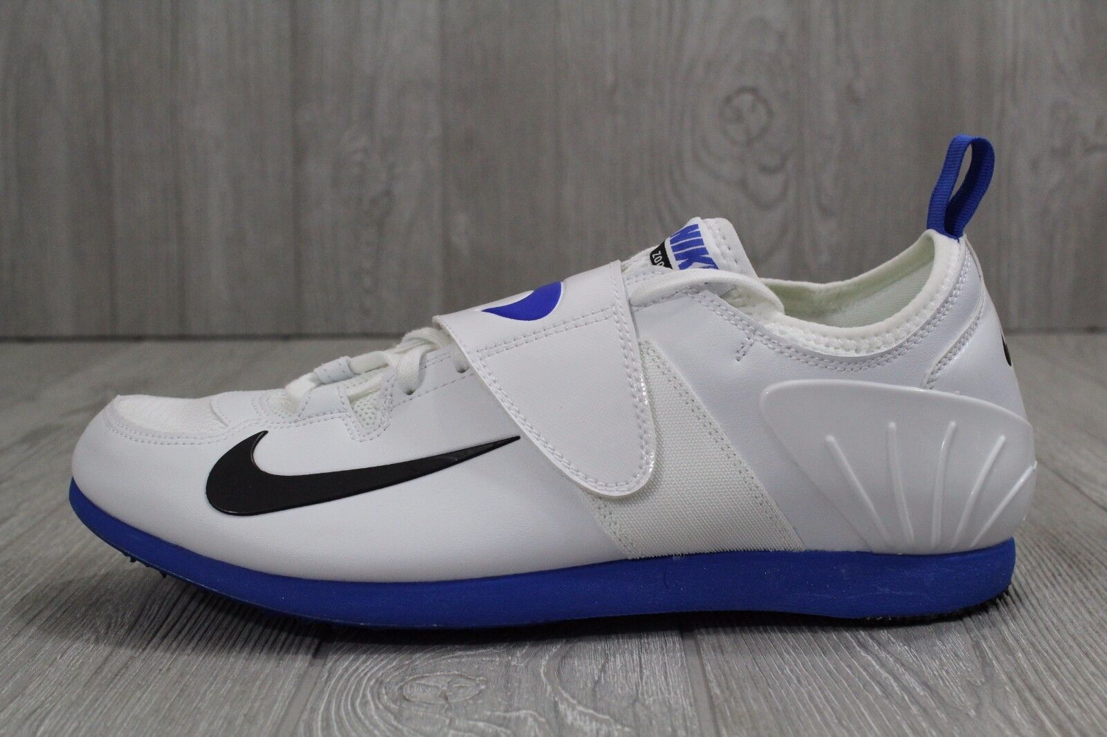 585c449c7ecf 24 New Mens Nike Zoom PV II Pole Vault Spikes Spikes Spikes Shoes White  Blue 317404