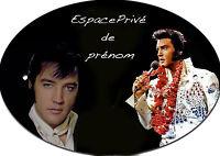 Plaque De Porte Elvis Presley Personnalisée Avec Prénom (v3)