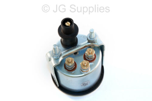 40-120 C 12 V-Chrome Bezel Smart Water Temperature gauge 52 mm-DEL Warning