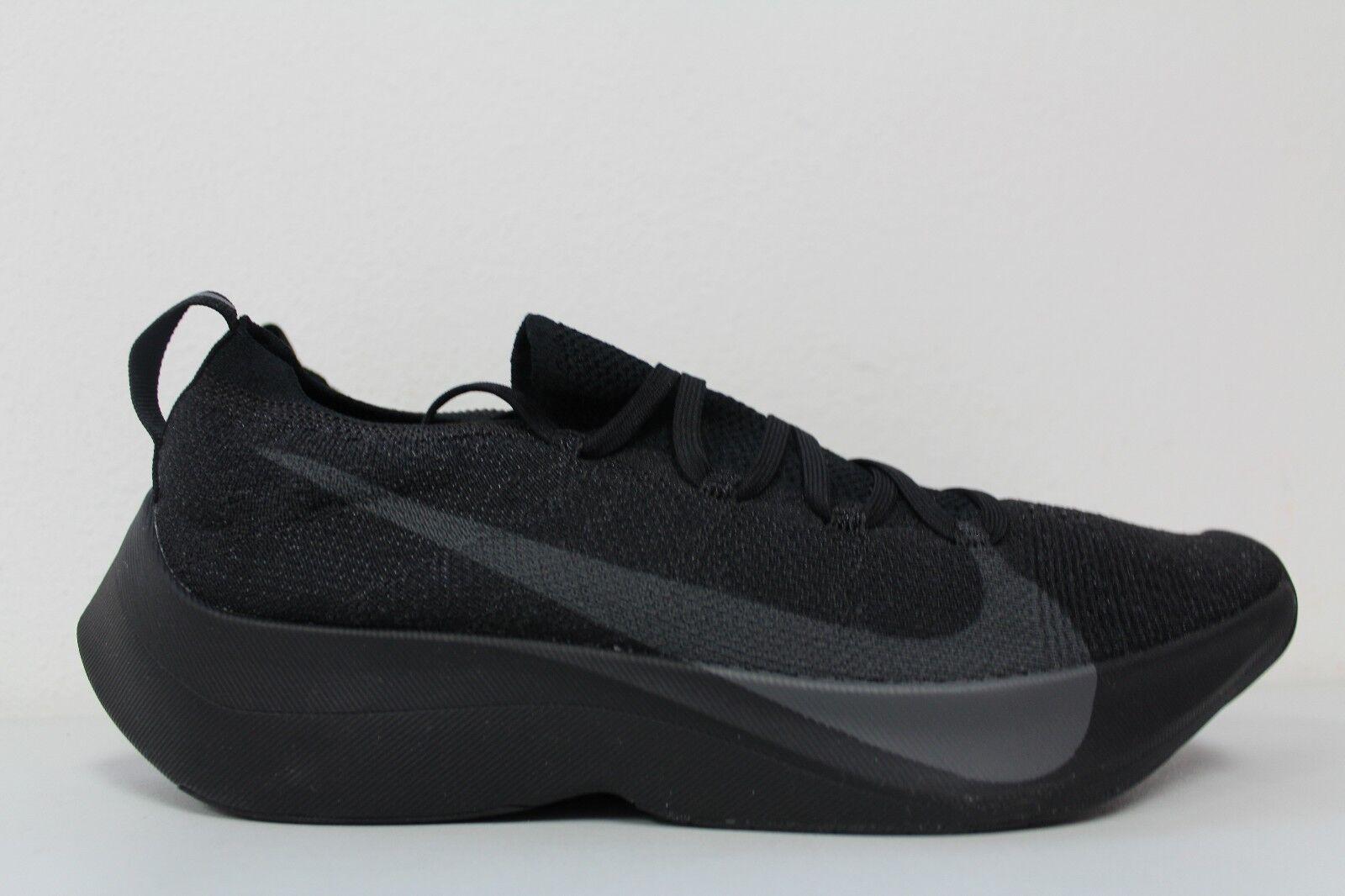 Men's Nike Vapor Street Flyknit Black Anthracite AQ1763-001 Size 10.5