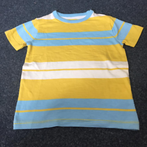 U10 NEW RRP £20 Mini Boden Blue//YELLOW stripe Print