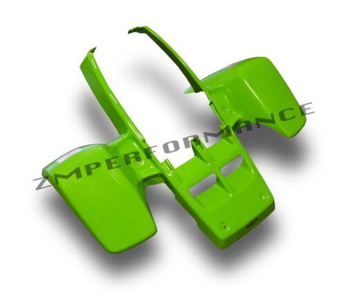 NEW YAMAHA BANSHEE YFZ 350 PLASTIC GREEN STANDARD FRONT FENDER PLASTICS