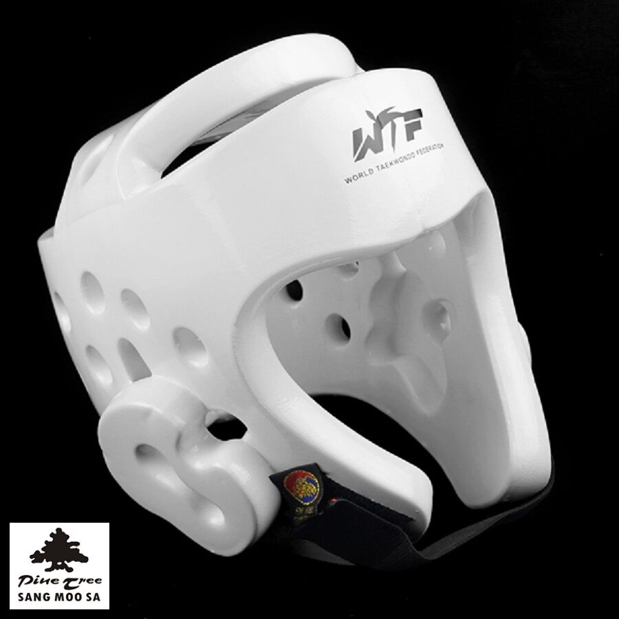 Martial Arts Head Predection Trainig Sparring Competition Safety Helmet Wt