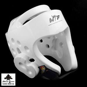 Kampfsport Kopfschutz Trainig Sparring Wettkampf Schutzhelm WT Kopfschoner S-L