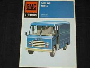 b002cebae794ca Image is loading 1967-GMC-Value-Vans-Catalog-Sales-Brochure