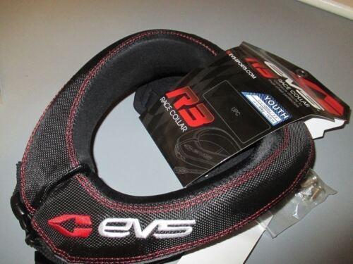 EVS Youth R3 Race Neck Collar Black RC3-YB 724089