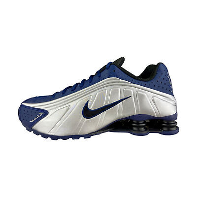 Nike Shox R4 Bleu Argent Baskets Hommes 104265 405 | eBay