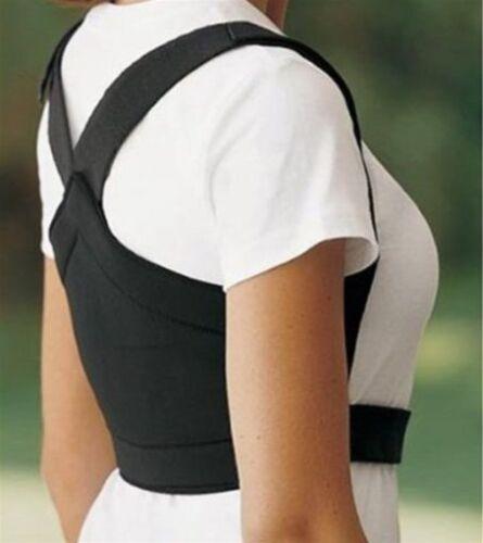 Different Sizes BLACK /& WHITE EquiFit Shoulders Back LITE Posture Corrector