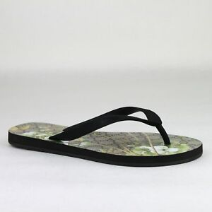 33cb479ce45e Gucci Supreme GG Canvas Bloom Print Green Flower Thong Sandal 283029 ...