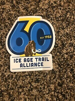 ICE AGE TRAIL ALLIANCE Sticker Decal NEW