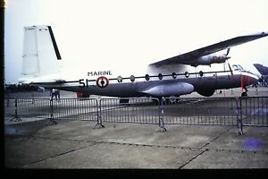 4-479-2-Aerospatiale-N-262-French-Navy-Kodachrome-SLIDE