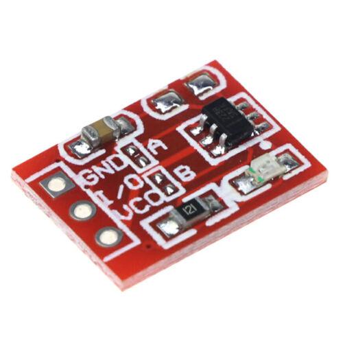TTP223 mini rouge tactile capacitif Switch Bouton Auto-lock//Non-Verrouillage Module Arduino