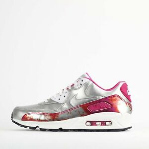Argent Nike In Métallique Air Baskets Pour Premium Max Shoes Qs Femme 90 RCrRTv