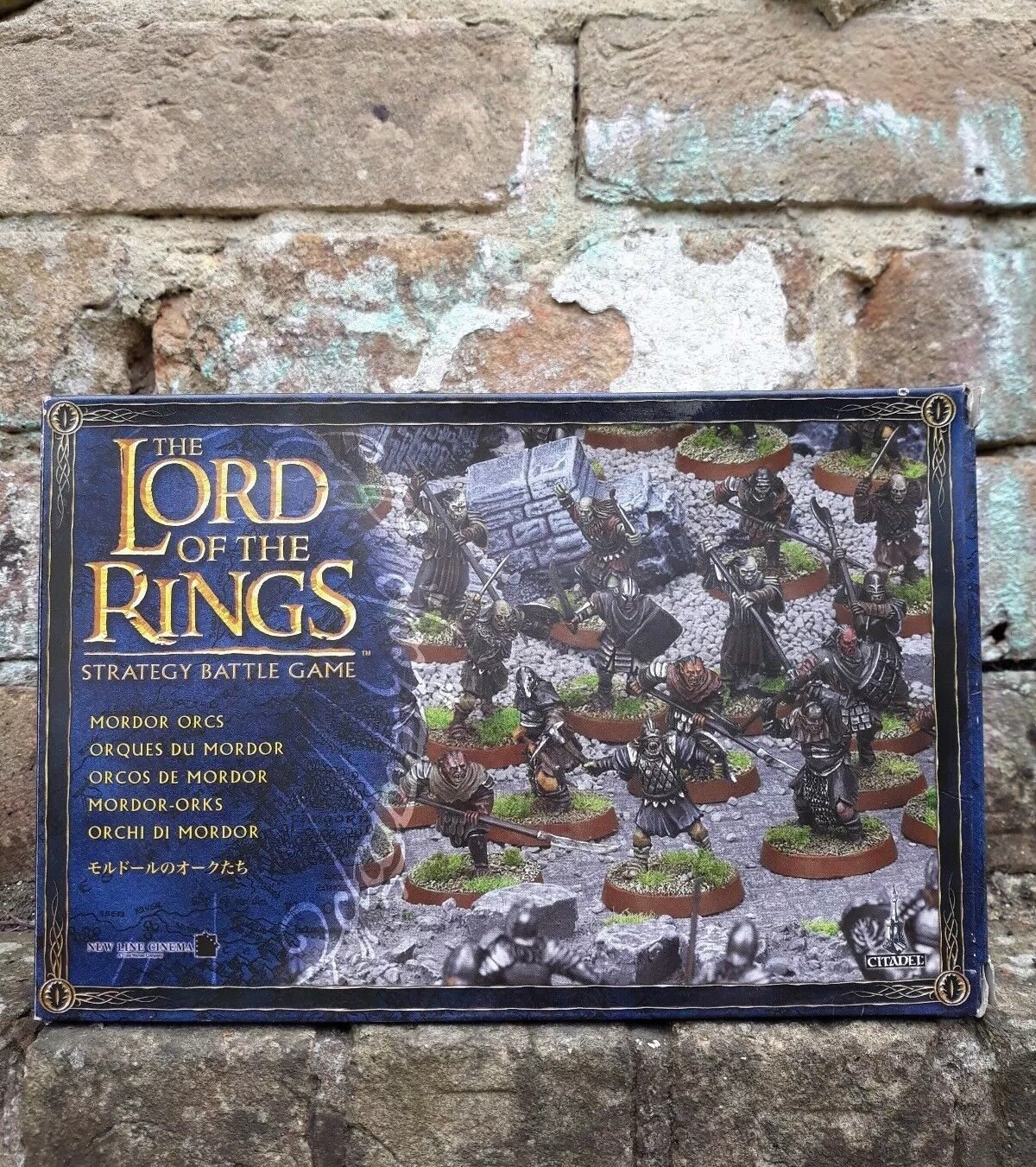 NEW The Lord Of The Rings Strategy Battle Game Mordor Orcs Games Workshop