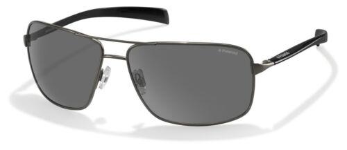 Occhiali da sole Sunglasses Polaroid PLD 2023 CVL GRIGIO LENTI POLARIZZATE 100/%