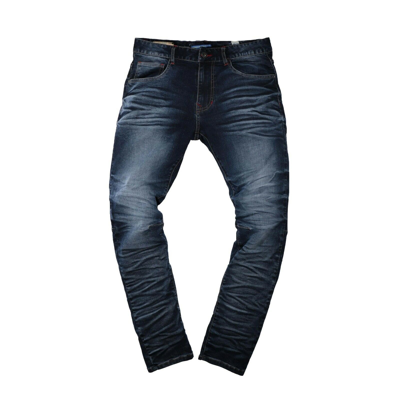 Smoke Rise Reflex bluee Slim Tapered Jeans