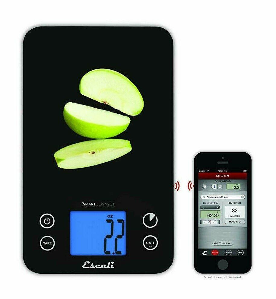 Escali SmartConnect 11 lb 5 Kg blueetooth Digital Kitchen Scale