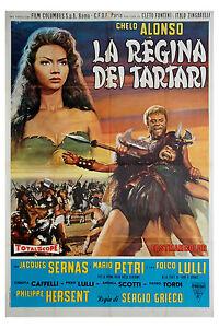 manifesto-2F-film-LA-REGINA-DEI-TARTARI-Chelo-Alonso-Mario-Petri-1960