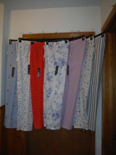 Gap Body Light Cotton Women/'s Pajama Pants XL,L,M,S Multi Color 100/% cotton