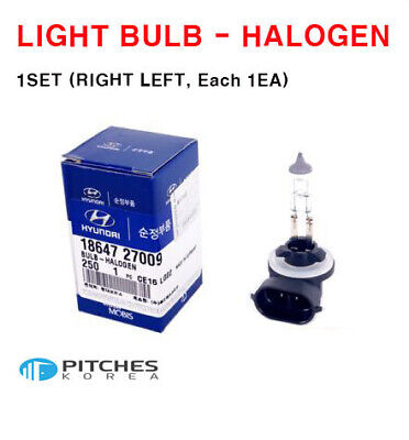 New Genuine OEM Fog Light Lamp Bulb For Hyundai 18647-27009S 1