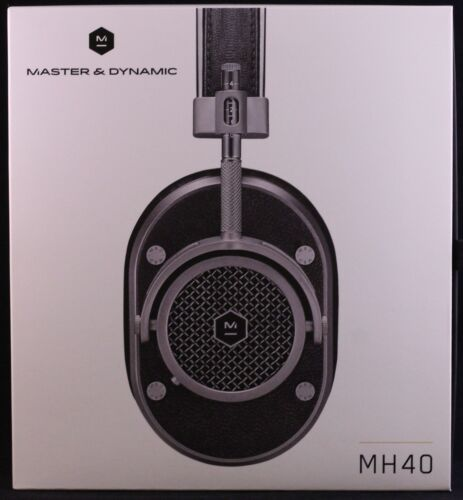 Master /& Dynamic MH40 Over Ear Headphones Gunmetal Open Box