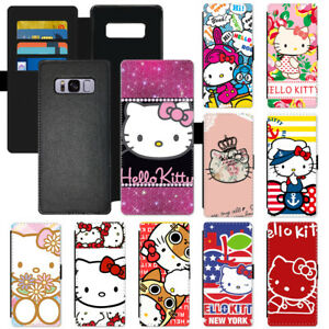 5ec03c621 Cartoon Hello Kitty Flip PU Leather Wallet Phone Case Cover For ...
