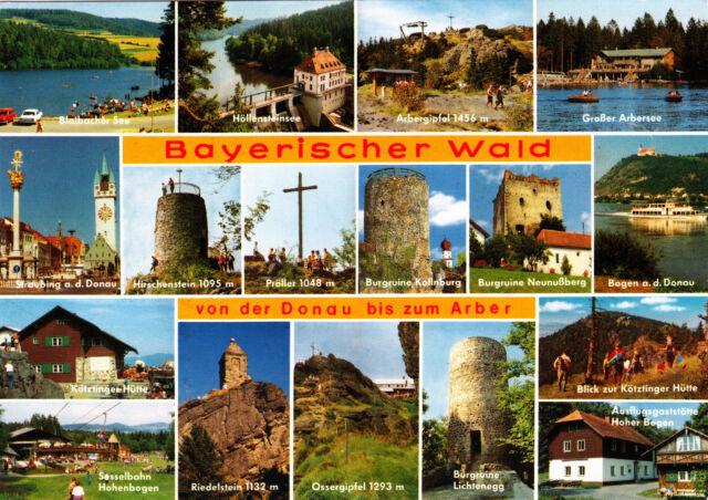 Bayerischer Wald ; Ansichtskarte gel.
