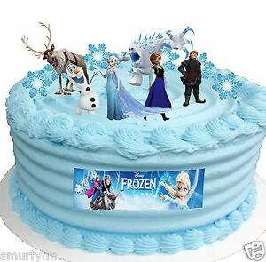 Image Is Loading Frozen Disney Elsa Birthday Party Cup Cake Toppers
