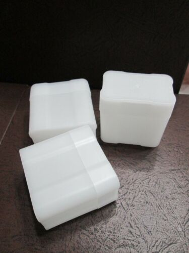 NEW Three COINSAFE Storage Tube for 1 OZ Silver Bars Holds 20 Bars