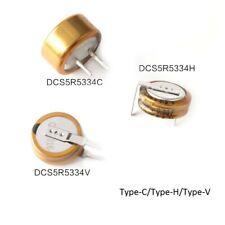 Farad Capacitors 5.5V 0.47F Super Capacitors SE-5R5-D474VY Type-C Type-H Type-V