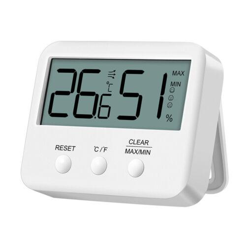 Innen Zuhause Büro Funk Thermometer LCD Digital Hygrometer Mit Luftfeuchtigkeit