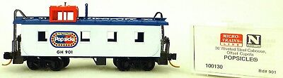 Frank Micro Trains Line 100130 Popsicle 901 36' Riveted Steel Caboose 1:160 Emb.orig Dependable Performance Toys & Hobbies Freight Cars