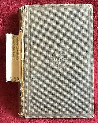The Koran Translated by George Sale 1866 Edition T O H P Burnham HB 472 Pgs