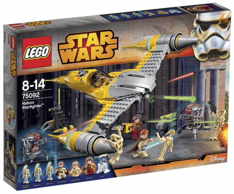 NUOVO LEGO ® Star Wars 75092-Naboo stellari ™ NUOVO & OVP r2-d2 Anakin Obi-Wan