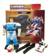 Transformers G1 ☆ JAZZ PRETENDER CLASSICS ☆ TAKARA 80s Original nr 100% BOX MINT