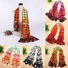 Fashion Dot Women Lady Girls Long Soft Wrap Shawl Silk Chiffon Scarf Stole Warm