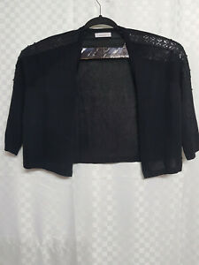 Ladies M/&S Per Una Size 20 Winter White Long Sleeve Wool Blend Jumper