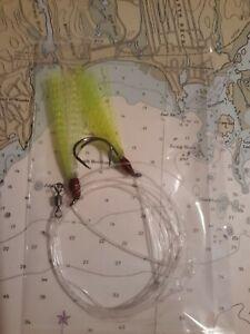 pollock sea bass tile fish haddock 6 Gamakatsu nylon teaser cod