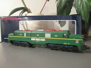 electrotren e2763s electric loco renfe 277 047-7 verde marillo epoca1v dcc sound