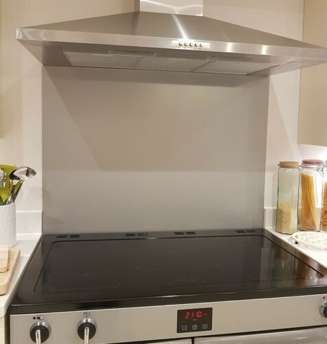 Various Sizes Silver Aluminium Composite Splashback Kitchen Cooker Hob Wall