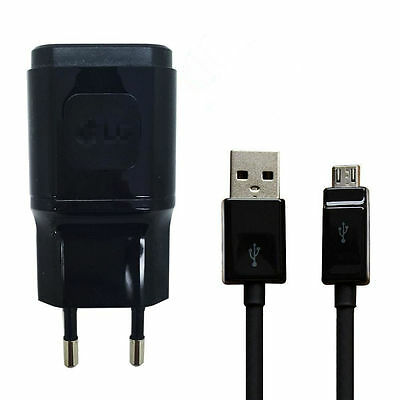 Genuine LG Wall Charger Original 1.8A Travel Adapter +Cable F LG G3 2 G4 Nexus 5