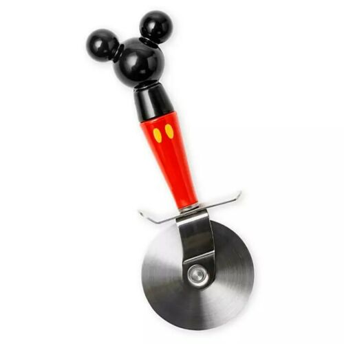 Disney Store Eats Pizza Cutter Slicer Mickey /& Minnie Mouse ICON Kitchen Utensil